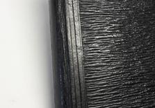 Carnet de croquis. Dos en cuir APRES restauration