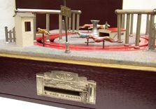 Boîte pour jeu mécanique - course de lévier