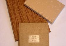3 reliures plein papier. Titres sur étiquette de cuir