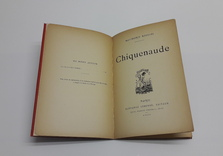 Raymond Roussel : Chiquenaude