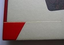 Demi box avec plats de papier