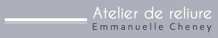 Atelier de reliure Emmanuelle Cheney - Ixelles